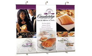 trade show events exhibits bannerstand 3000R backwall