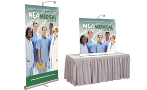 trade show events exhibits bannerstand 3000R tabletop