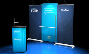 trade show events exhibits bannerstand myriad
