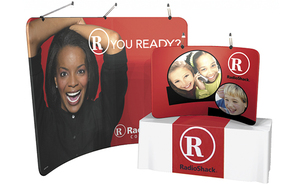 trade show events exhibits portable regatta graphics