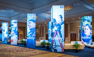 trade show events exhibits picturecube towers