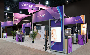 trade show events exhibits tube system branding