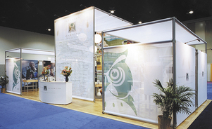 trade show events exhibits tube system accessories