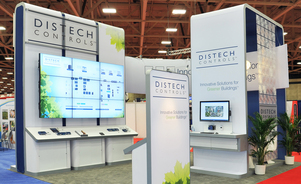 trade show events exhibits envoy backlit