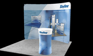 trade show events exhibits portable regatta case