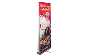 trade show events exhibits bannerstand 3000R double sided