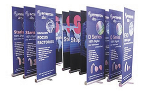 trade show events exhibits bannerstand 3000R fleet