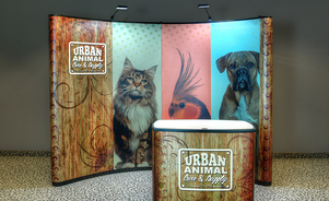 trade show events exhibits mirage pop-up