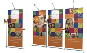 banner stands - design to attract